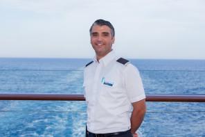 Urlaubsheld der Mein Schiff Flotte im Mai 2017: Ben Hadj Hassine Bechir