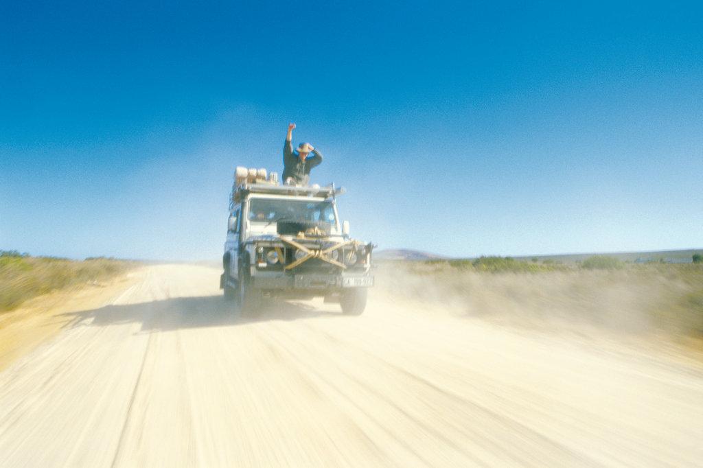 Mit dem Jeep durch die Wüste