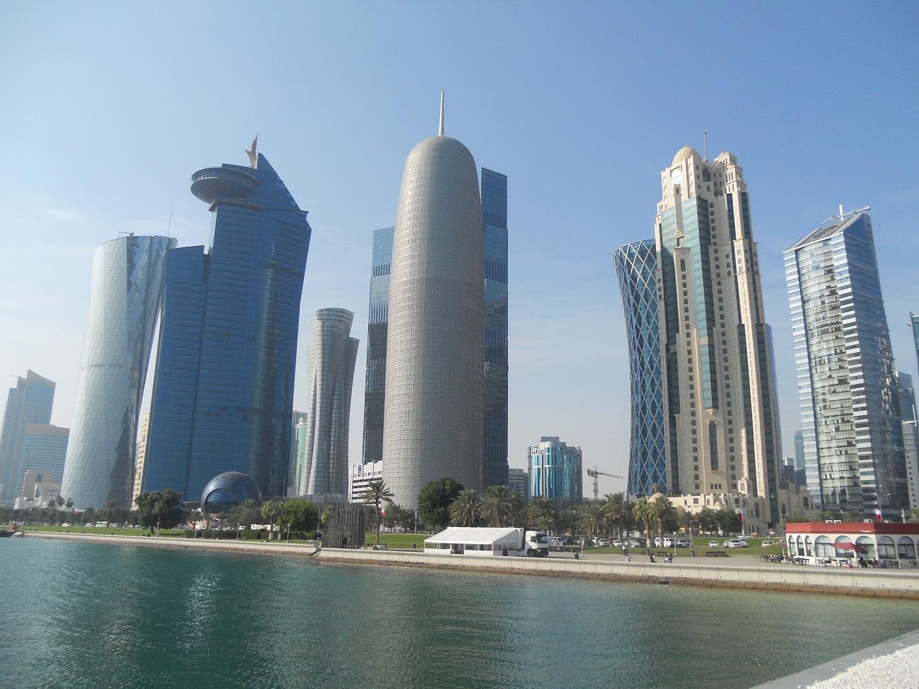 Mein Schiff Reiseziel: Die Skyline von Doha