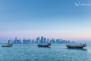 Mein Schiff Reiseziel: Doha – die unbekannte Stadt, die sich zeigen kann!