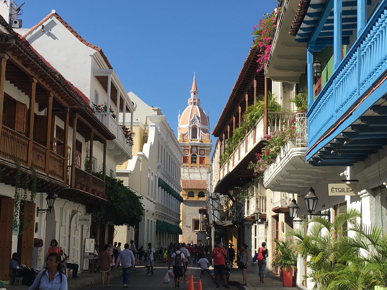 Mein Schiff Destination: Koloniale Altstadt von Cartagena - Kolumbien