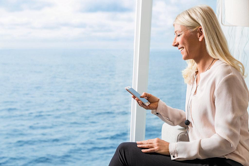 Immer online mit den Internettarifen der Mein Schiff Flotte