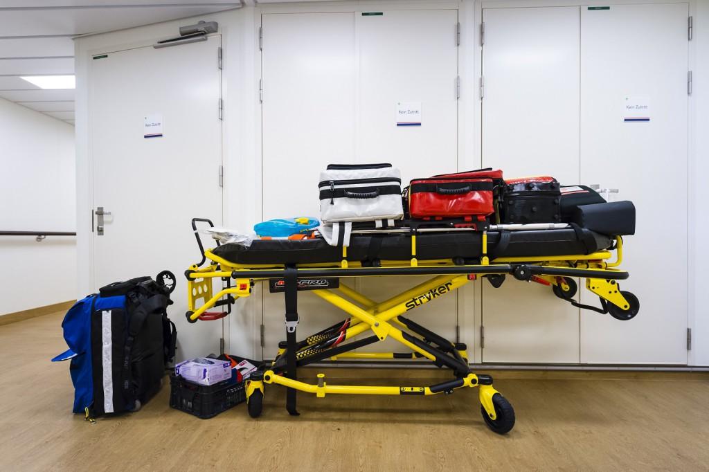 Für Notfälle gerüstet: Das Bordhospital der Mein Schiff
