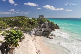 Mein Schiff Sehenswürdigkeit: Maya-Ruine Tulum in Mexiko