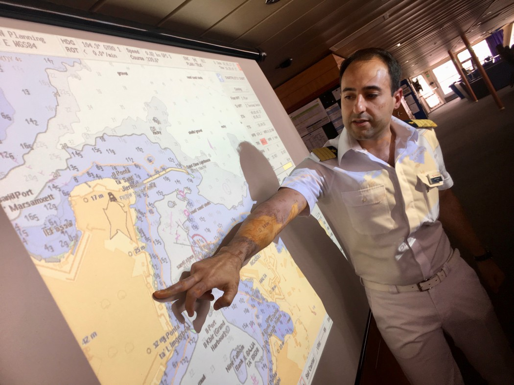 Mein Schiff Kapitän Omar Caruana
