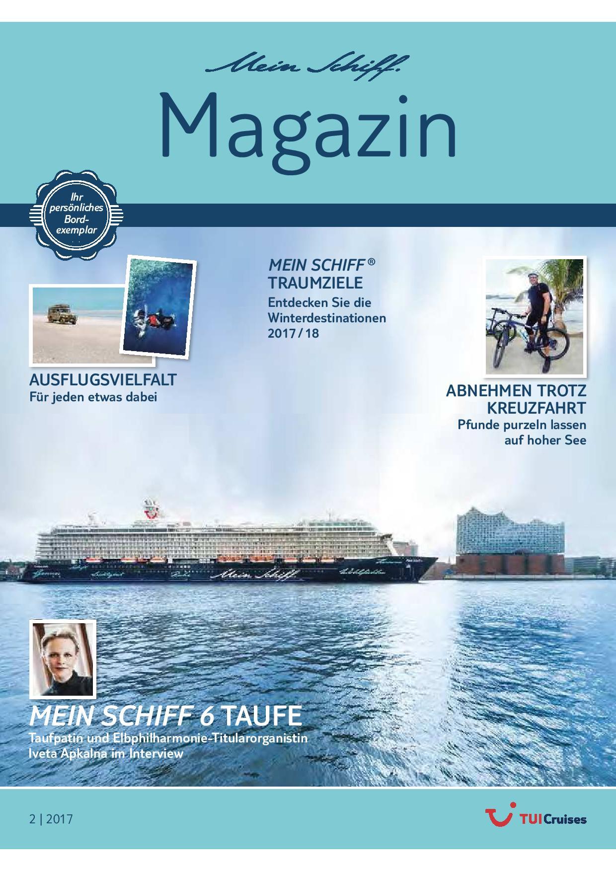 Das Mein Schiff Magazin 2/2017