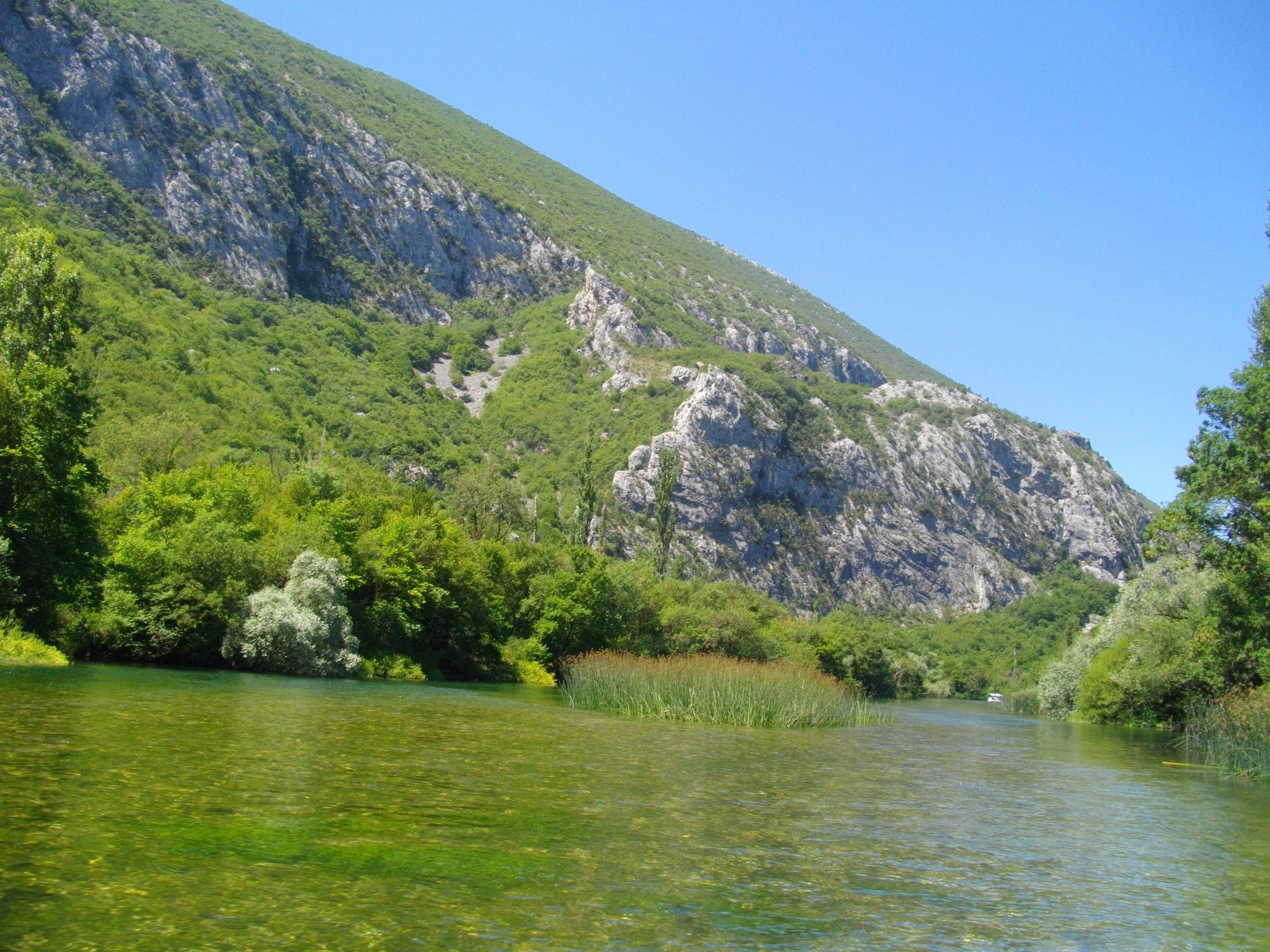 Das Flüsschen Cetina