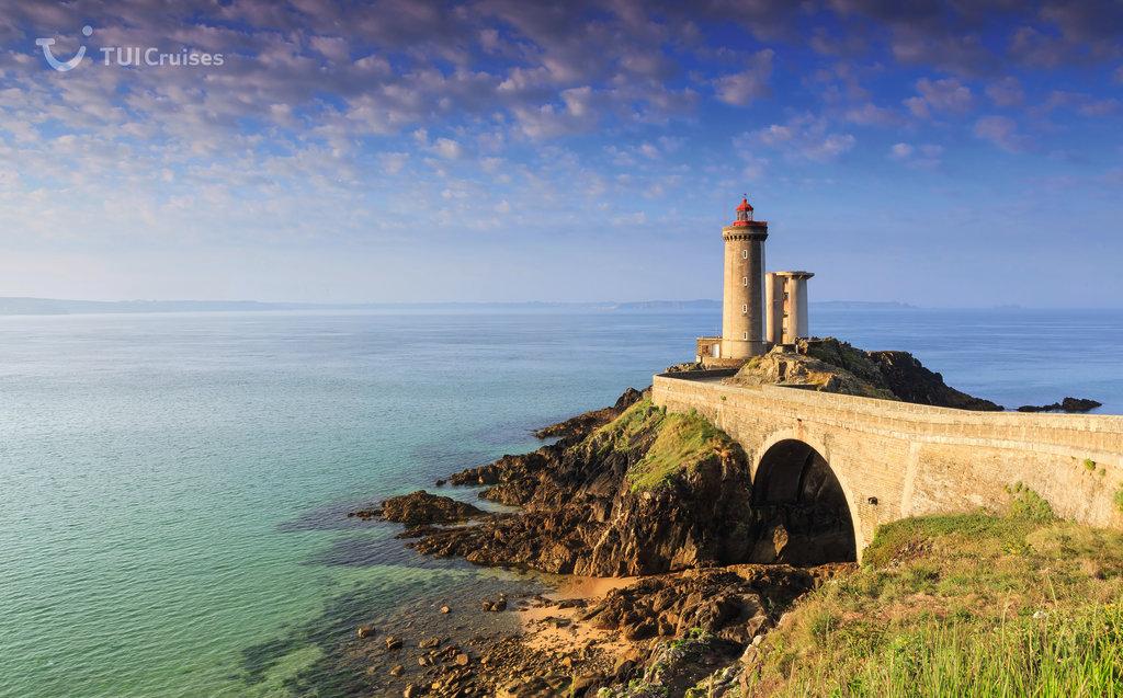 Mit der Mein Schiff entdecken: Leuchtturm Phare du Portzic in Brest