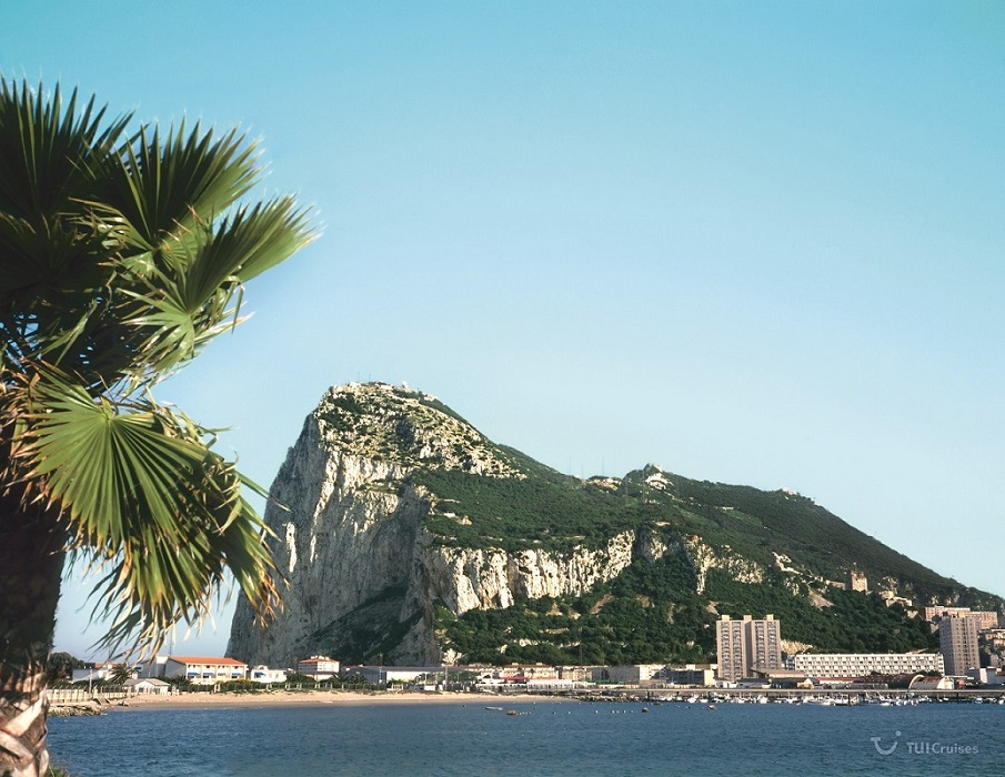 Mit TUI Cruises entdecken: Der Fels von Gribraltar auf Gibraltar
