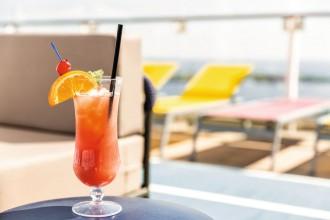 An Bord der Mein Schiff Flotte von TUI Cruises gibt es viele leckere Cocktails