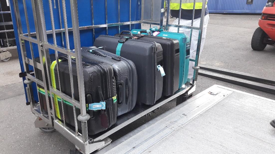 Sicher verladen mit dem Gepäckservice von TEfra