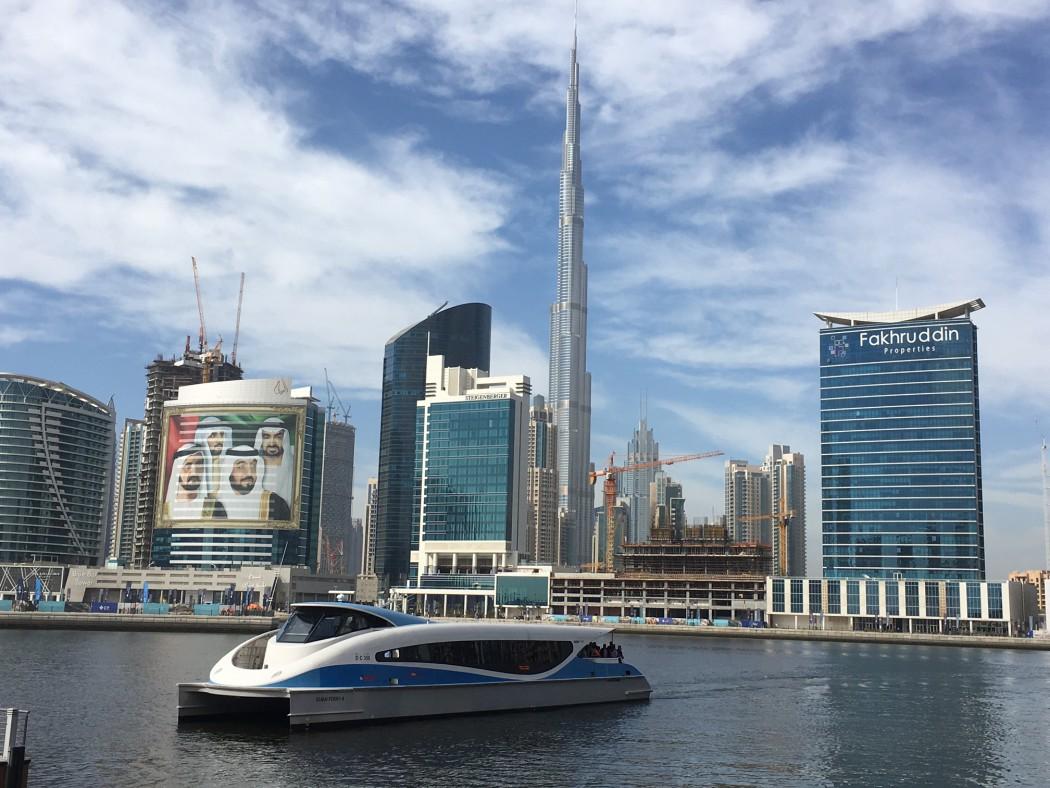 Auf Kanalfahrt durch Dubai Downtown