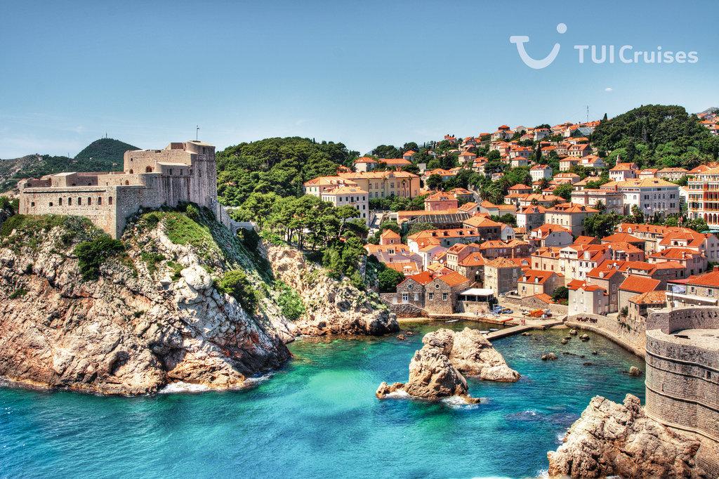 Mein Schiff Hafen Dubrovnik (c) Strandperle