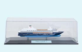 Das Modell der Mein Schiff 1