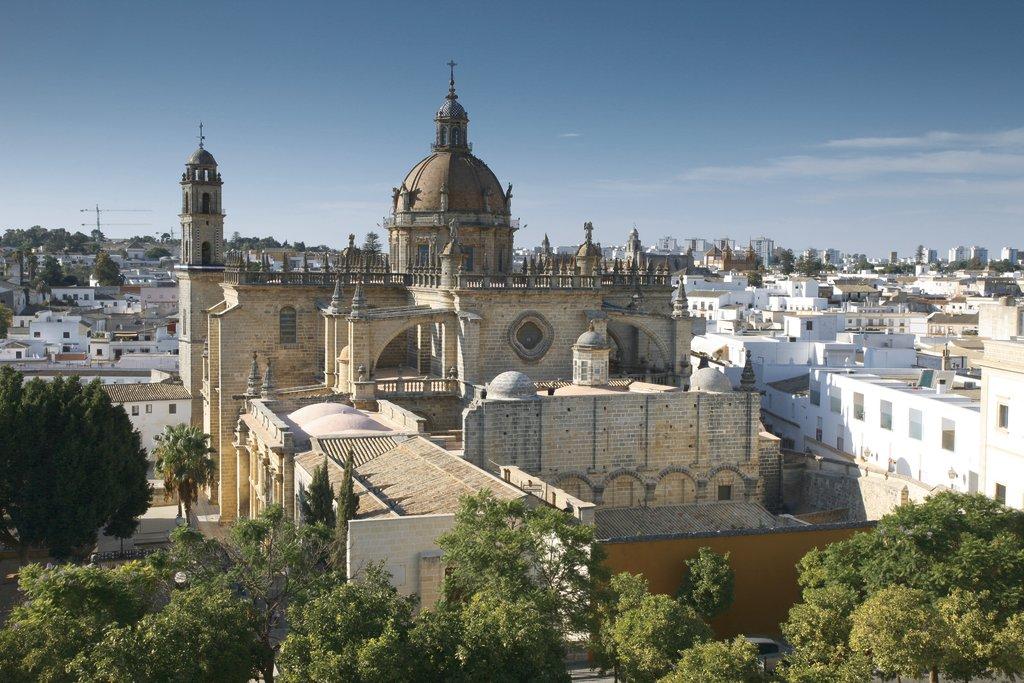 Der Königspalast Alcázar in Sevilla