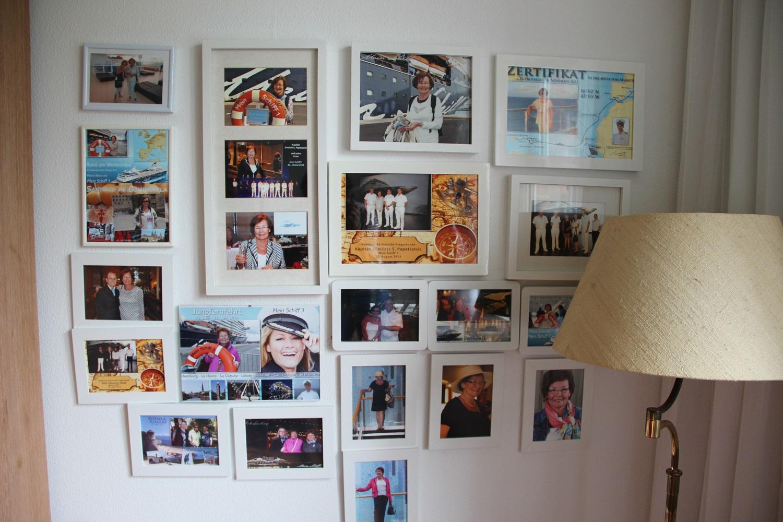 Ingrid Malmströms Wall of Fame der Mein Schiff Reisen