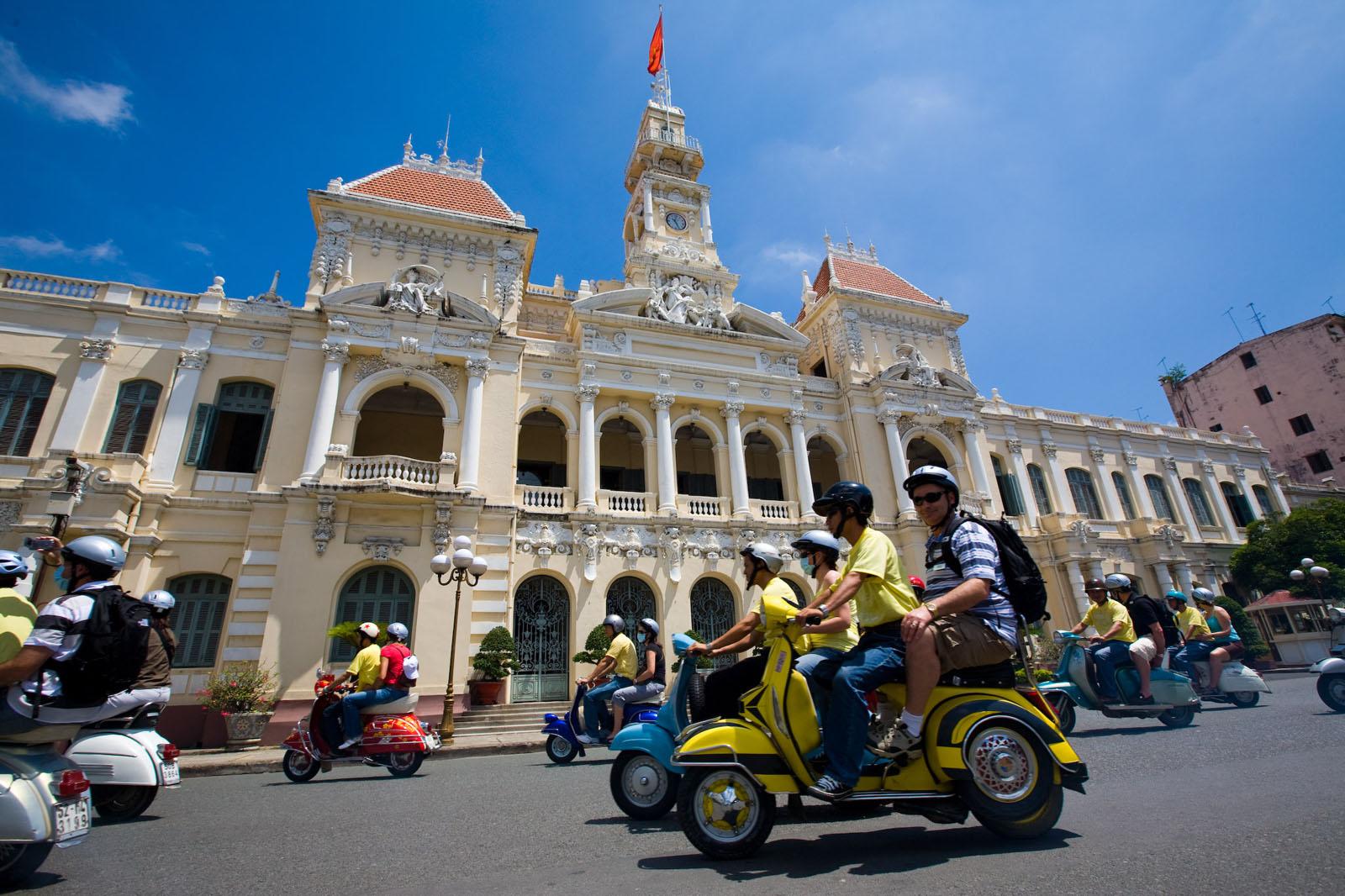 Vespa Trip in Ho Chi Minh City