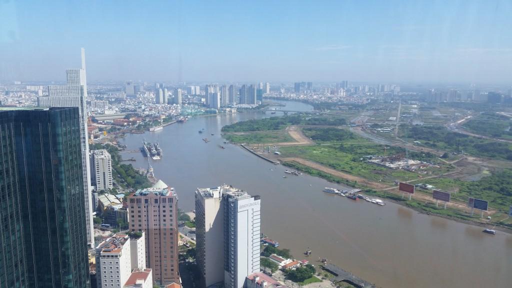 Mein Schiff Ausflugsziel Ho-Chi-Minh-Stadt: Ein Blick wie kein zweiter vom Bitexco Financial Tower aus