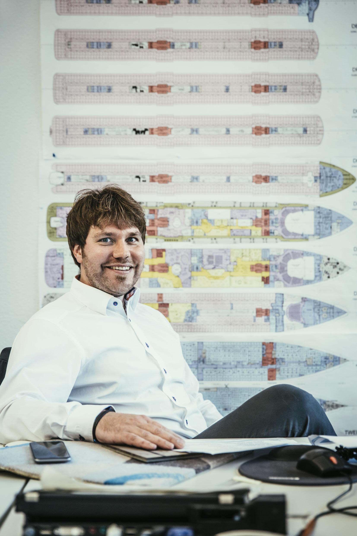 TUI Cruises Ingenieur Peter Heidacker