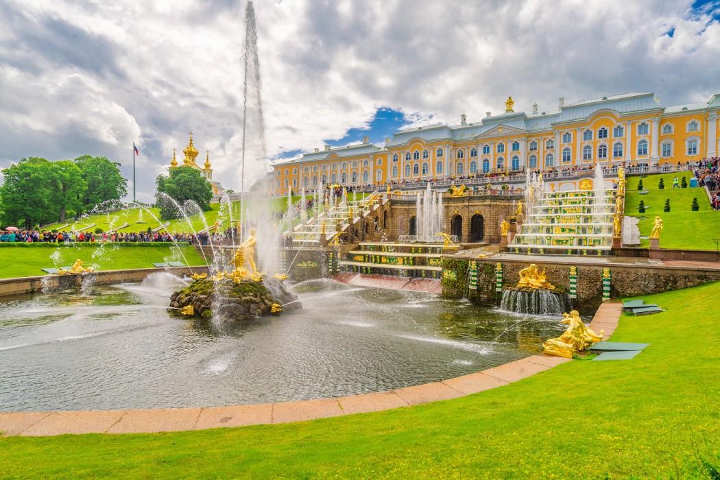 Mein Schiff Sehenswürdigkeit: Der Katharinenpalast in St. Petersburg