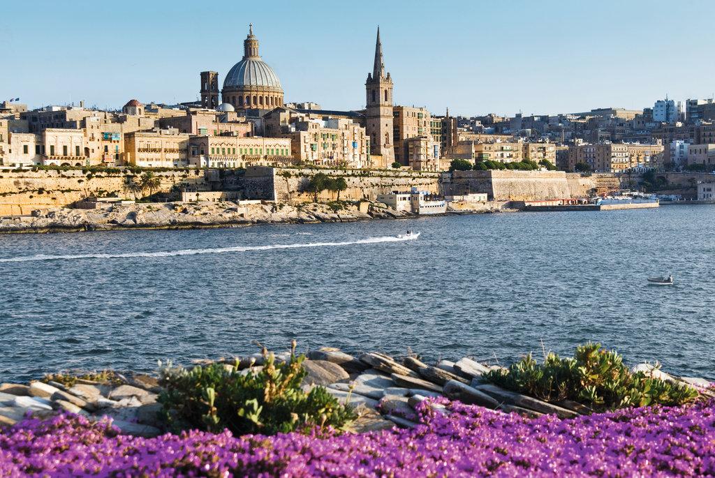 Mein Schiff Hafen: Karmeliterkirche in Valletta auf Malta