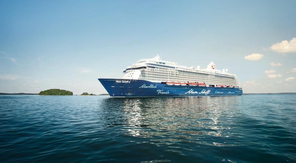 Die Mein Schiff 6 von TUI Cruises