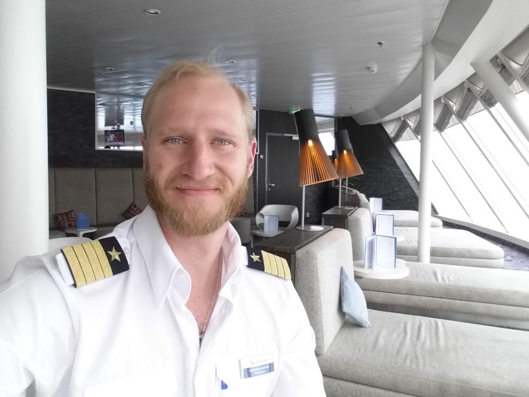 Mein Schiff Kapitän Sebastian Naneder