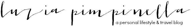 Bloglogo von Luzia Pimpinella