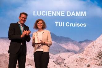 TUI Cruises freut sich über die Eco Trophea 2017 Copyright DRV
