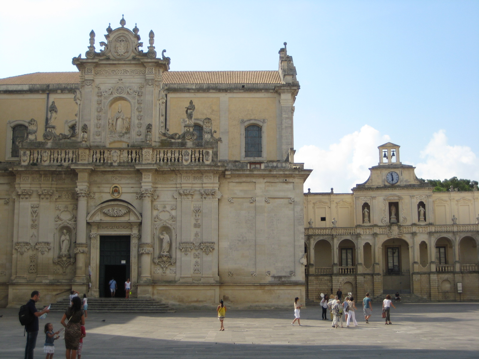 Besonders beeindruckend: die Piazza del Duomo in Lecce