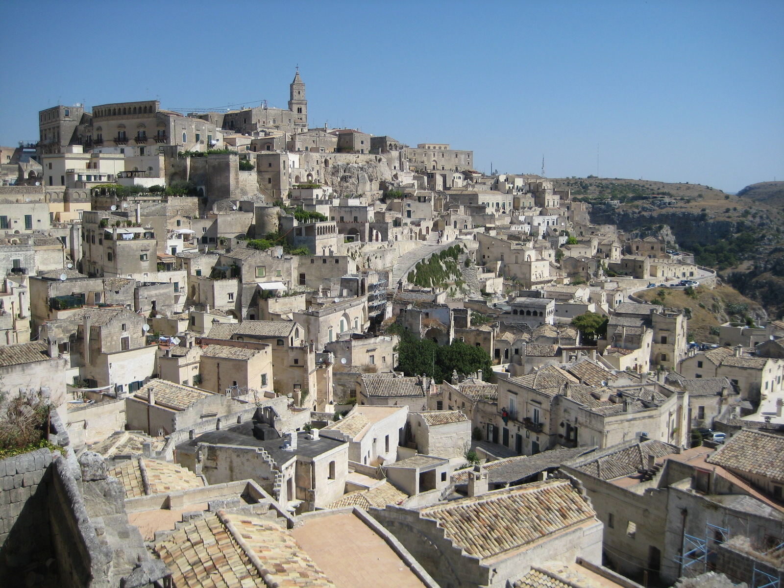UNESCO-Weltkulturerbe Matera Sassi