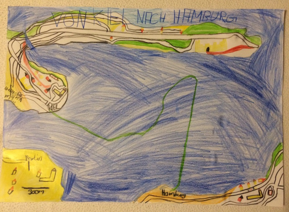 Die Seekarte von Mattis