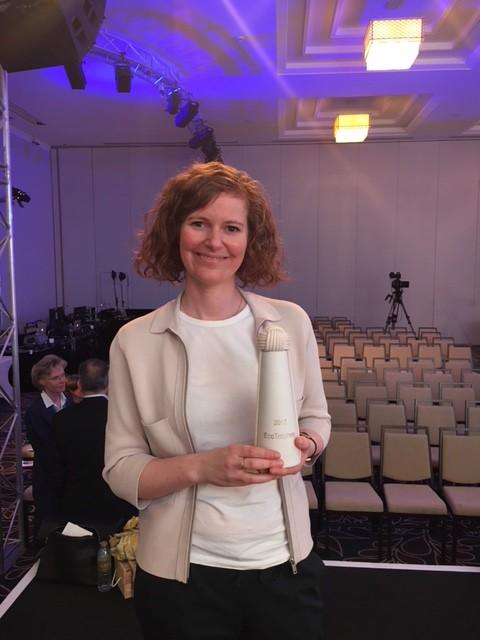 Freut sich über die Eco Trophea 2017: Lucienne Damm, Umweltmanagerin bei TUI Cruises