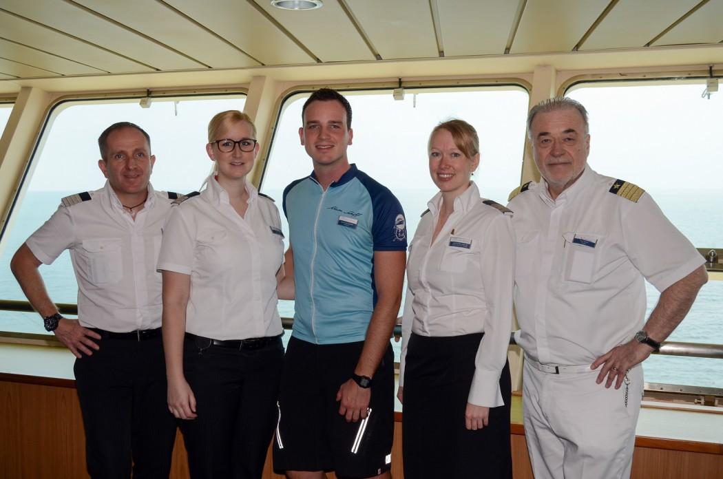 Urlaubsheld der Mein Schiff Flotte: Bikeguide Phillip Holtermann