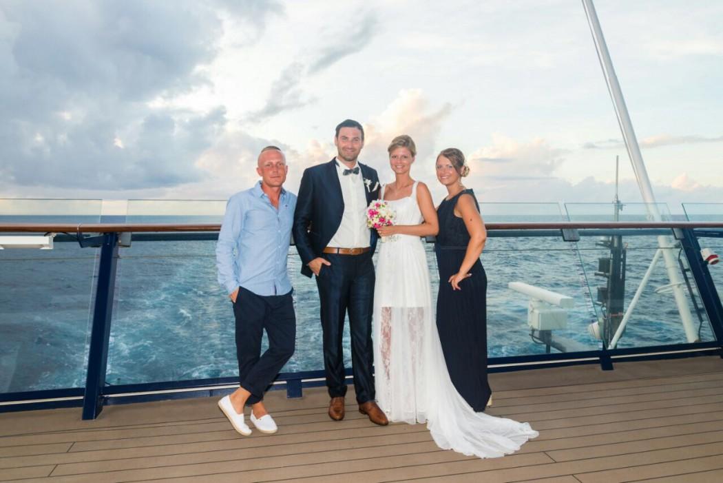 Hochzeit hoch 2 auf der Mein Schiff 6