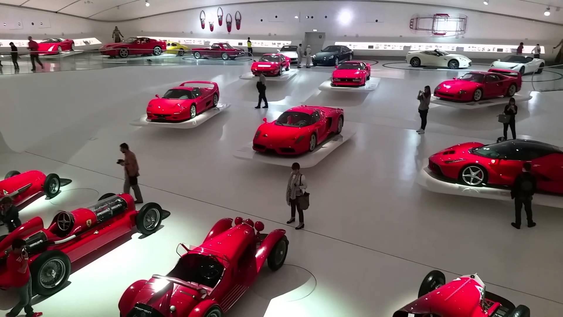 Mein Schiff Ausflugsziel: Ferrari Museum in Maranello