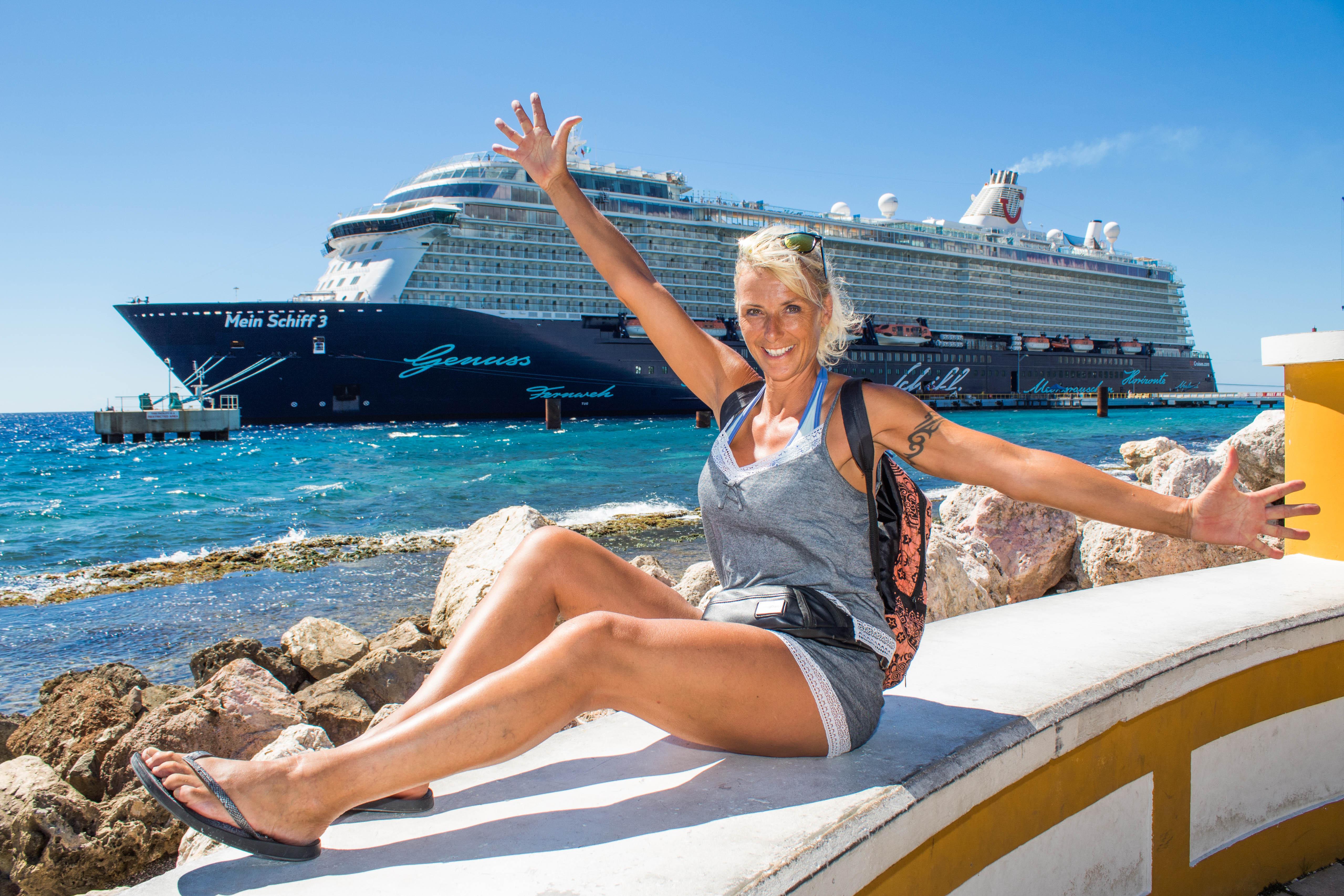 Mein Schiff Urlaubsheldin Heidi Matter in Ihrer Freizeit