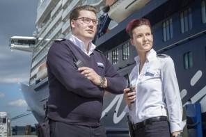 Mein Schiff Reisemanager Melissa Rabl und Martin Schenck