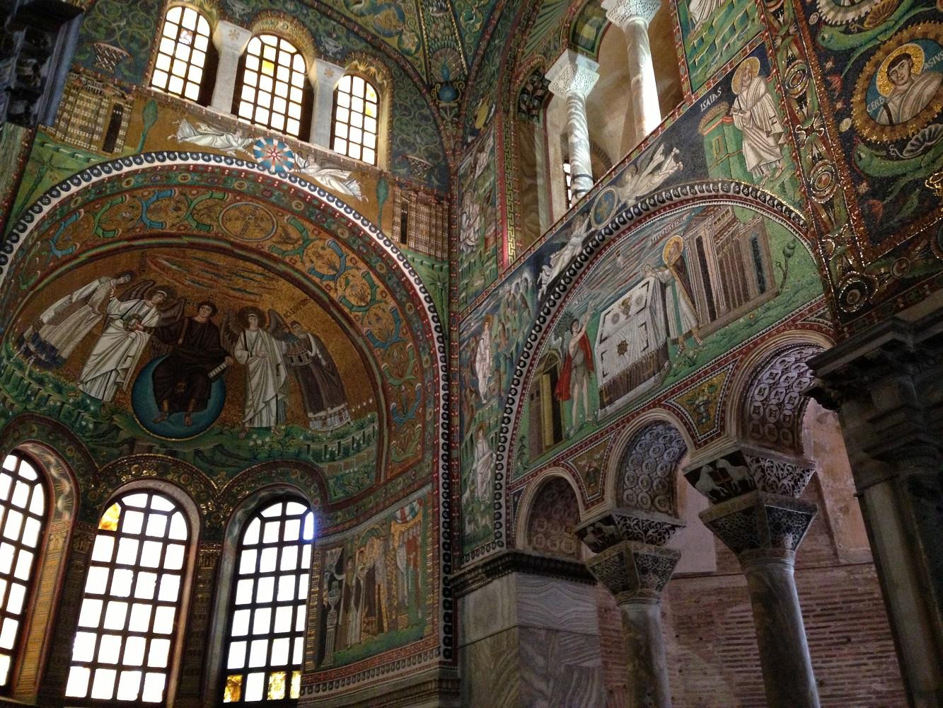 Mein Schiff Sehenswürdigkeit in Ravenna: Die Kirche San Vitale