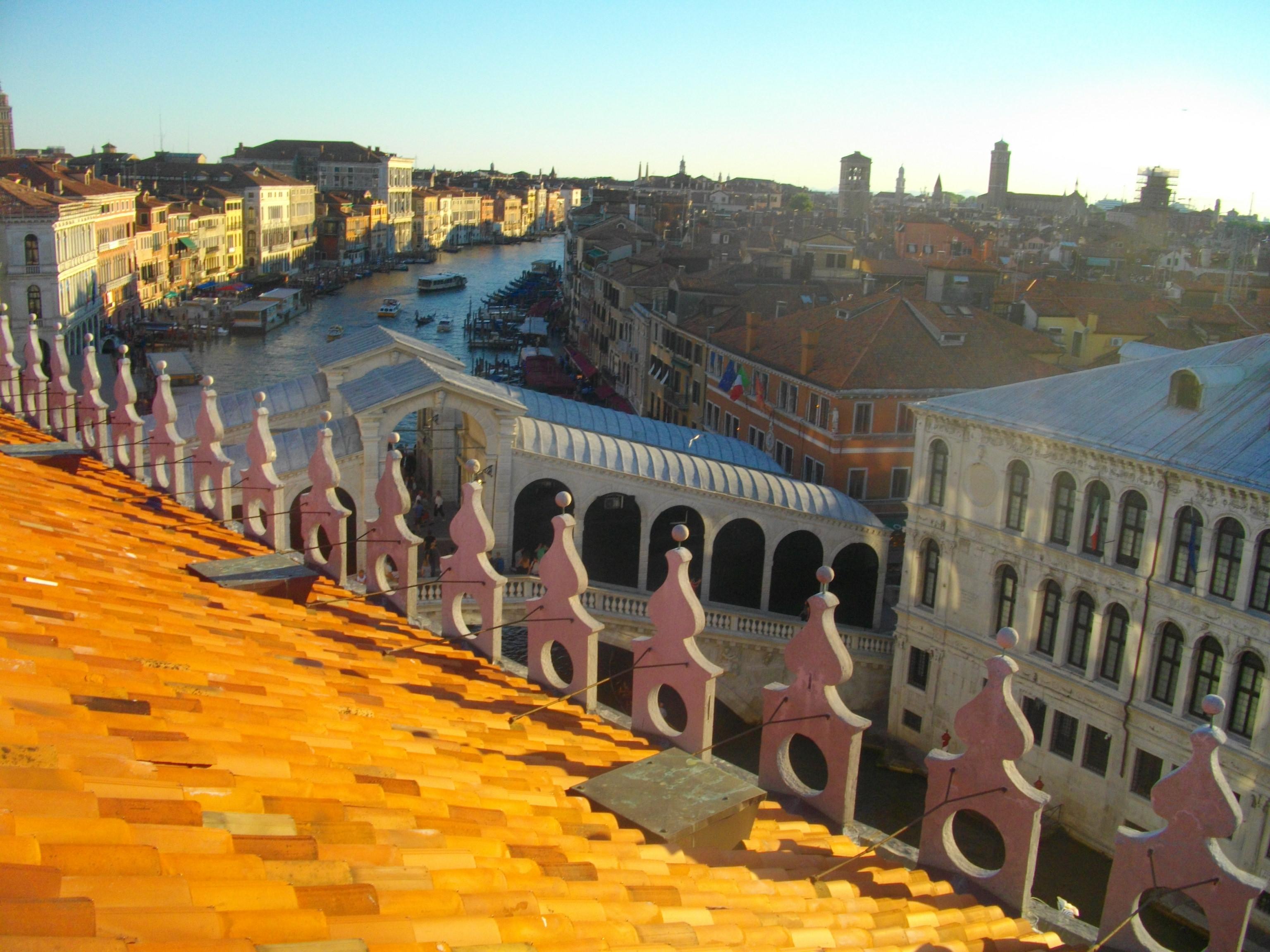 Mein Schiff Sehenswürdigkeit: Venedig Rialto - Dachterrasse Fondaco dei Tedeschi
