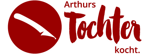 "Das Logo vom Blog ""Arthurs Tochter kocht"""