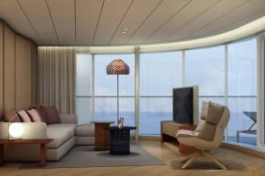 TUI Cruises setzt auf modernes Design von Patricia Urquiola