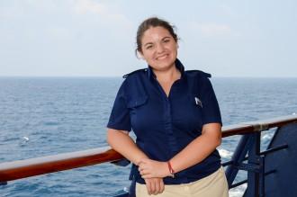 Lisa Becker, Ausflugsexpertin auf der Mein Schiff 1 ist die Mein Schiff Urlaubsheldin