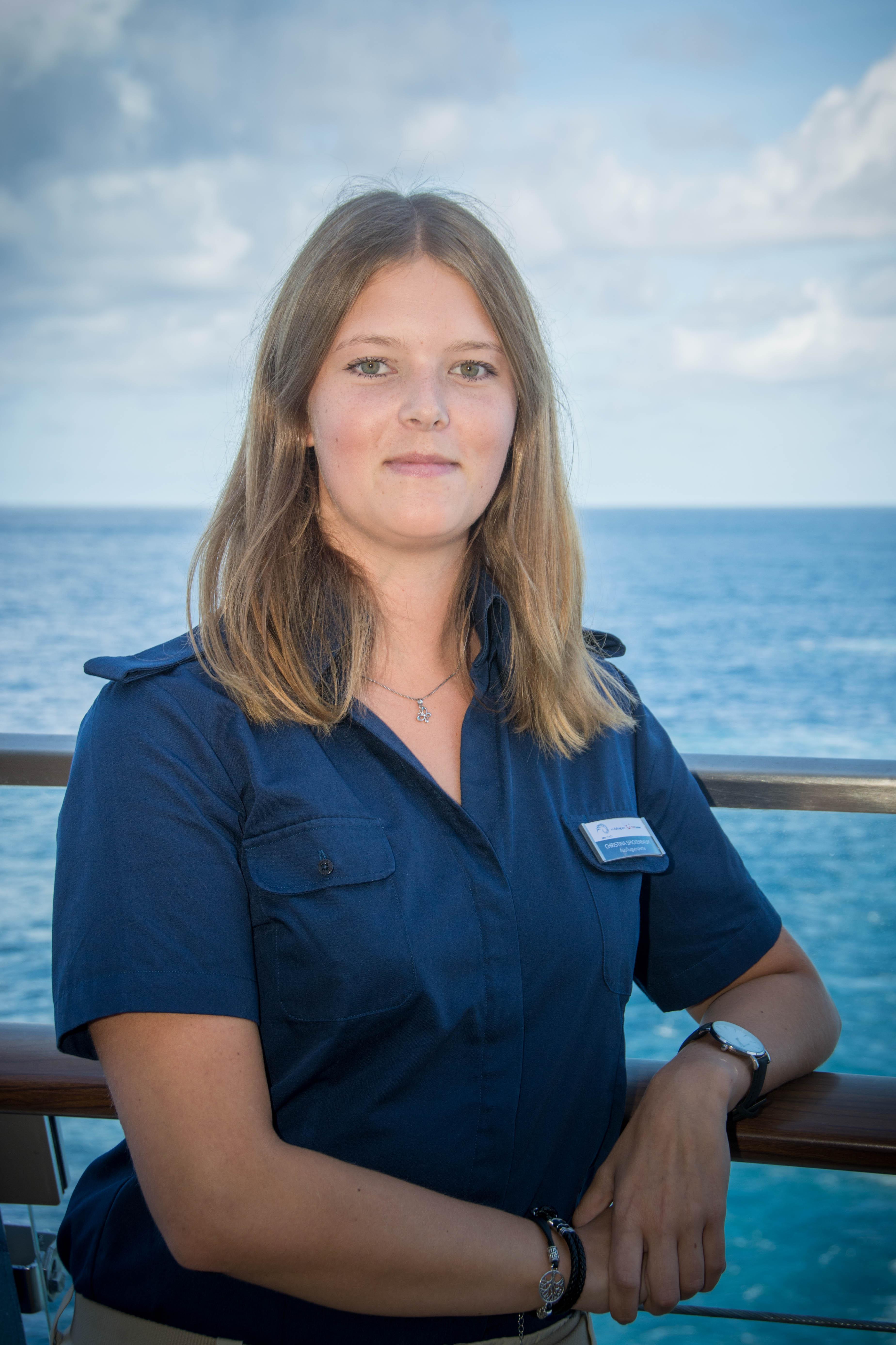 Mein Schiff Ausflugsexpertin Christina Spickenbaum