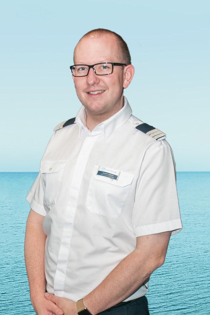 Shore Excursion Manager Dominik Höfler