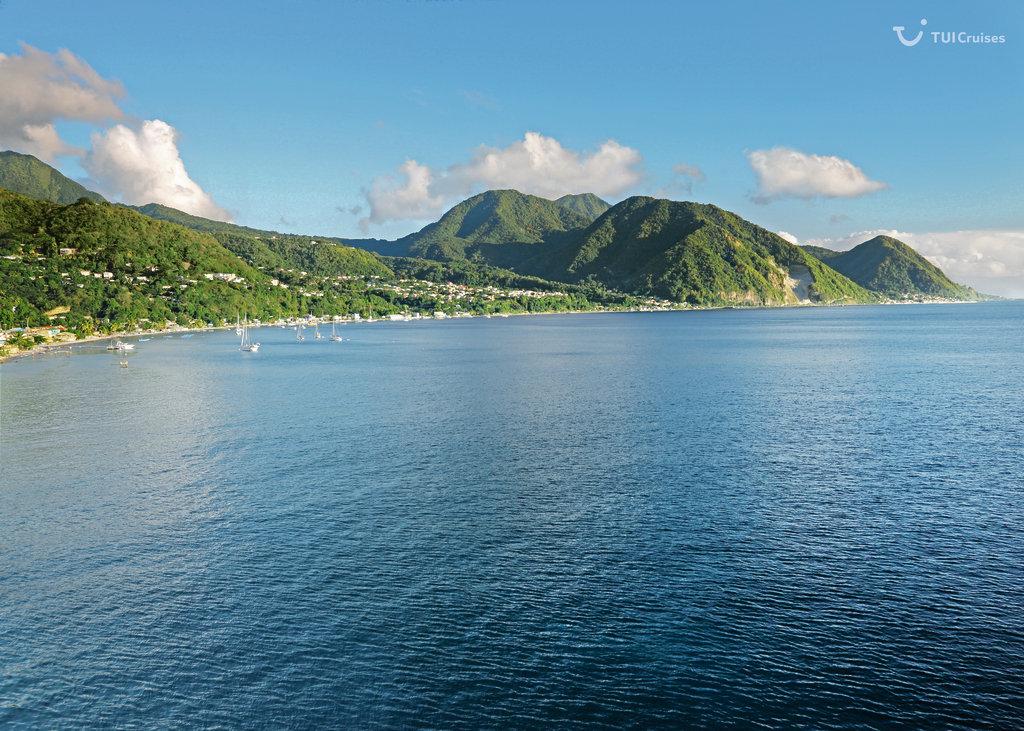 Mein Schiff Reiseziel Dominica
