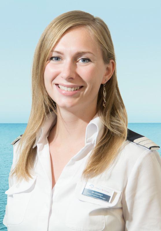 Mein Schiff Ausflugsexpertin Ina Howindt
