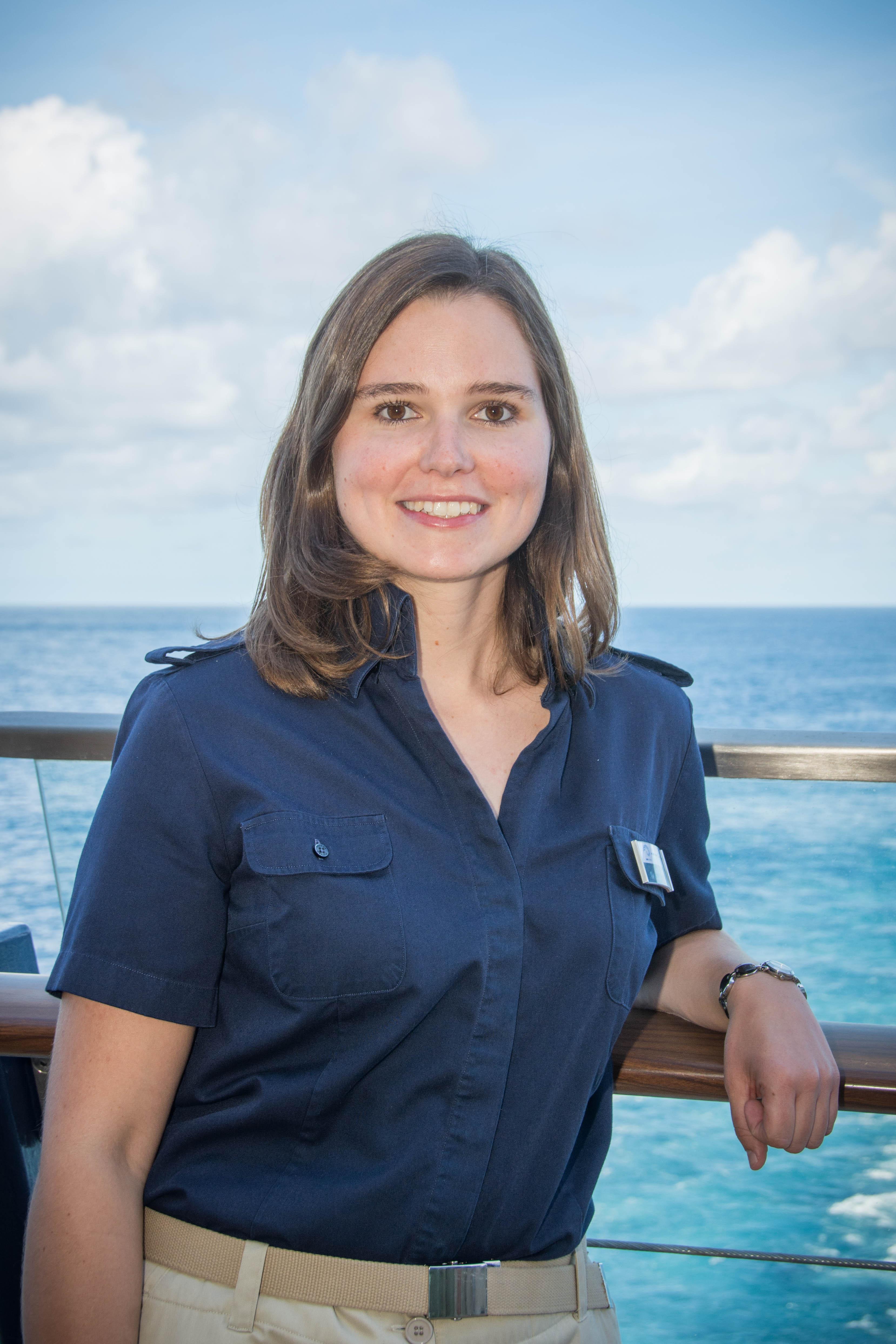 Mein Schiff Ausflugsexpertin Lena Engels