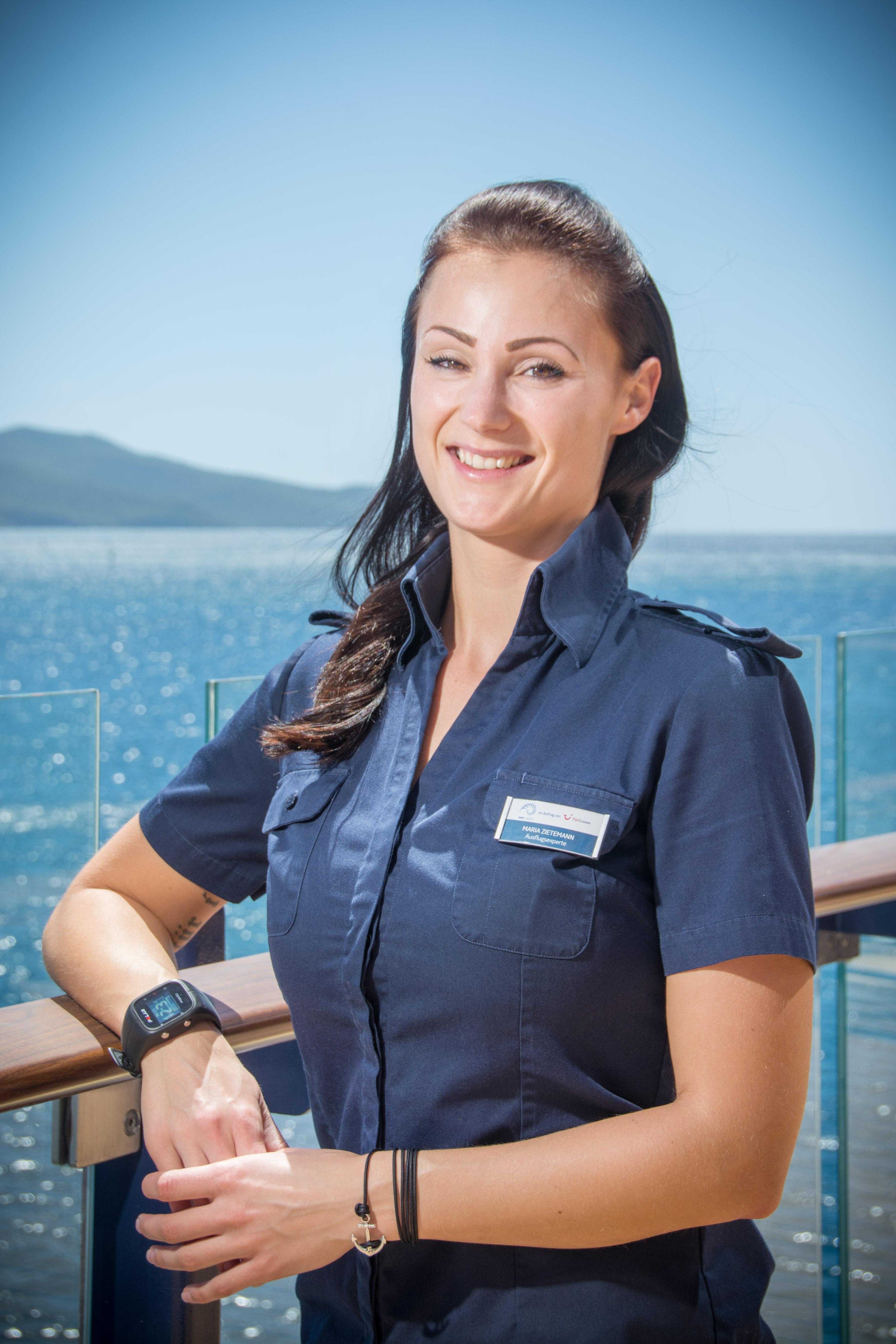 Mein Schiff Ausflugsexpertin Maria Zietemann