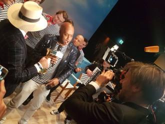 Yared Dibaba für TUI Cruises bei der Goldenen Kamera